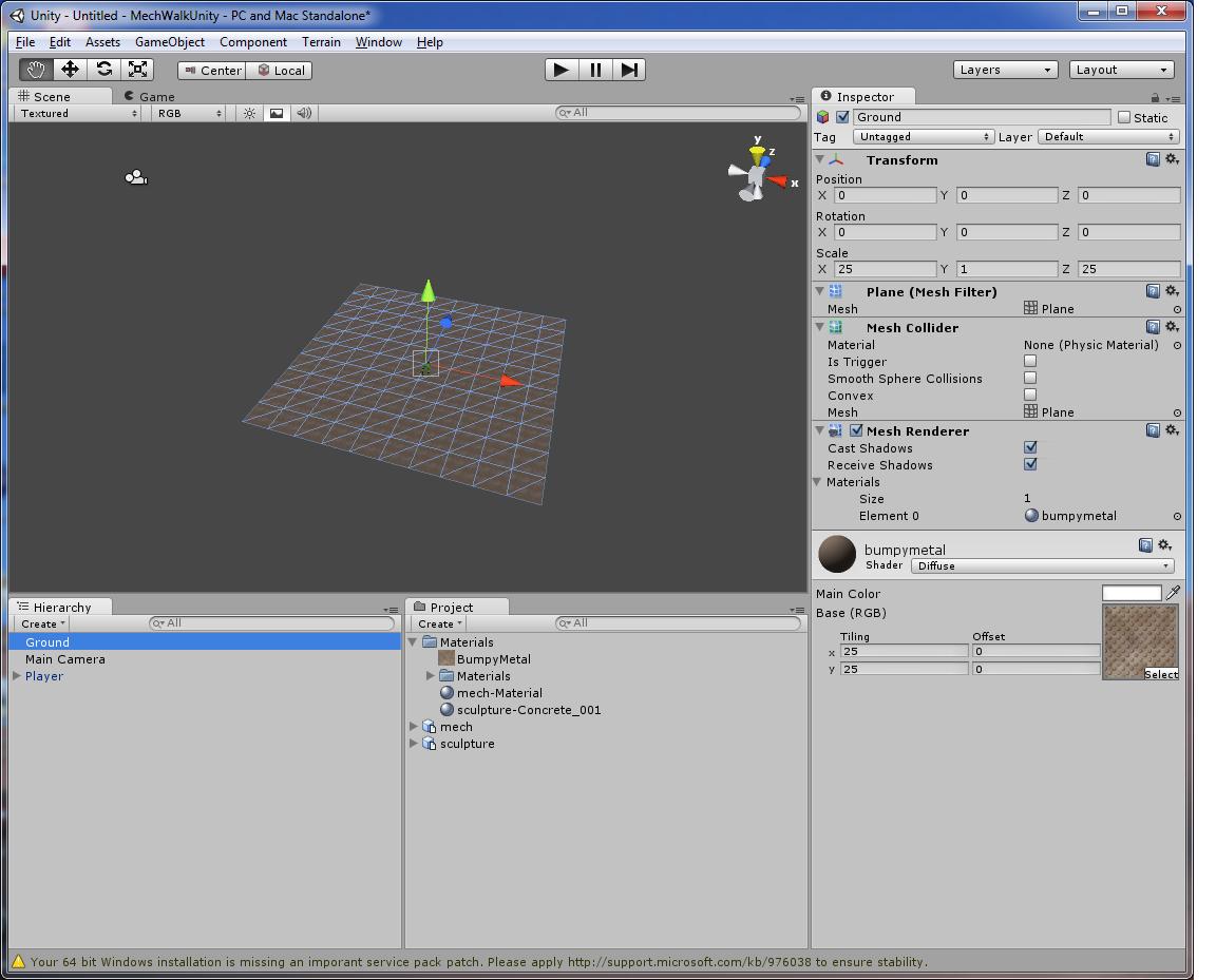 Unity3D Beginner for Beginner Tutorial: Mech - Cordinc